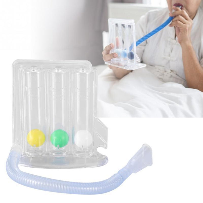 Deep Breathing Respiratory Exerciser Lung Capacity Exercising Device