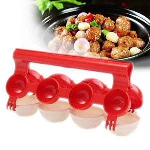 🍡🍢Newbie Meatballs Maker Toolor