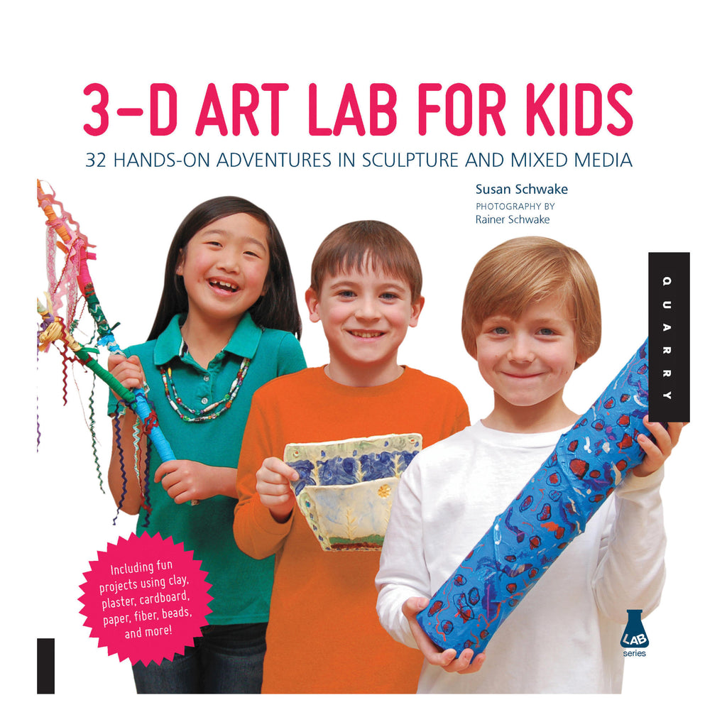 3D Art Lab for Kids book by Susan Schwake