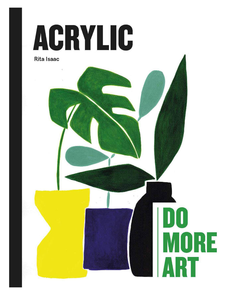 Acrylic: Do More Art by Rita Isaac book cover