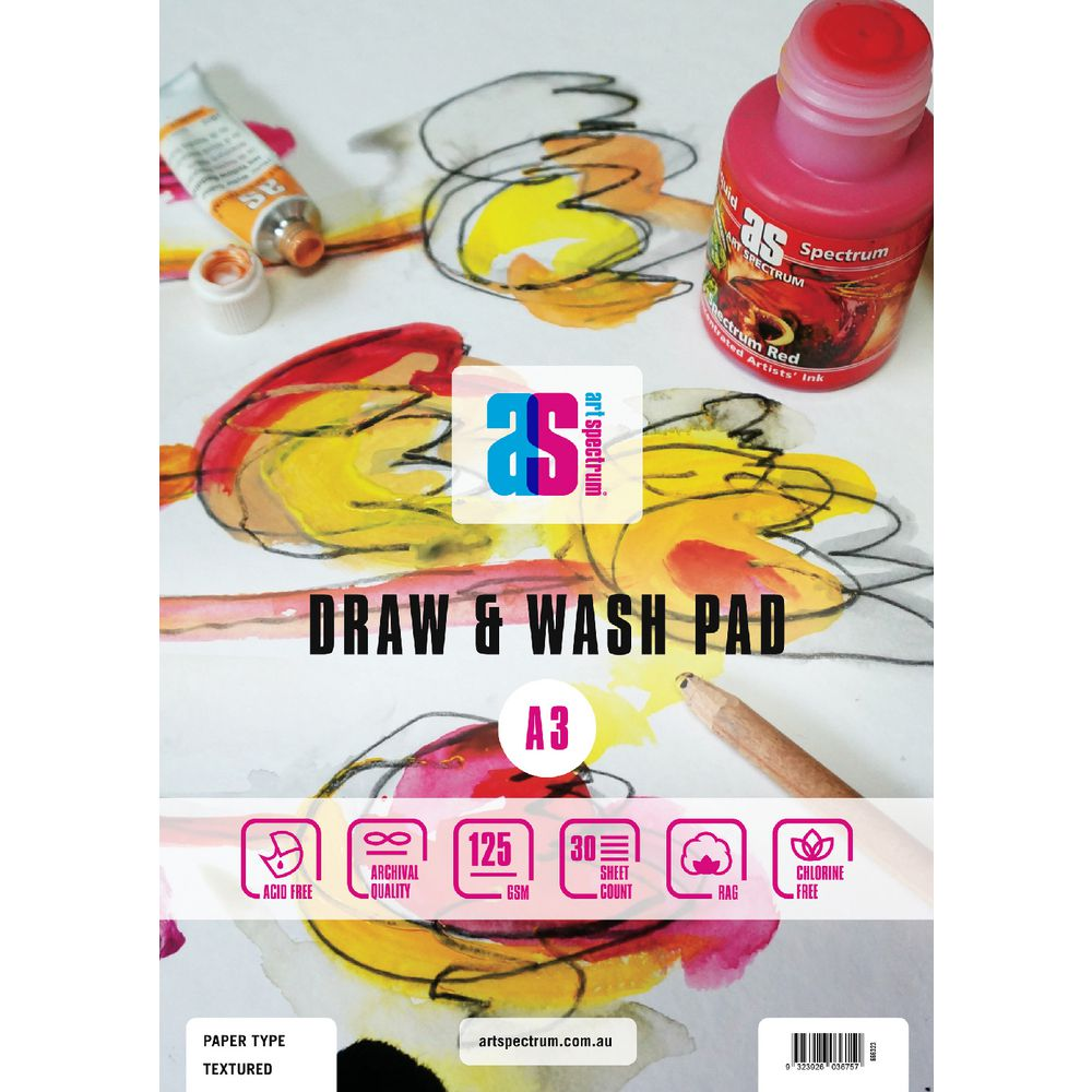 Art Spectrum Draw and Wash Pad