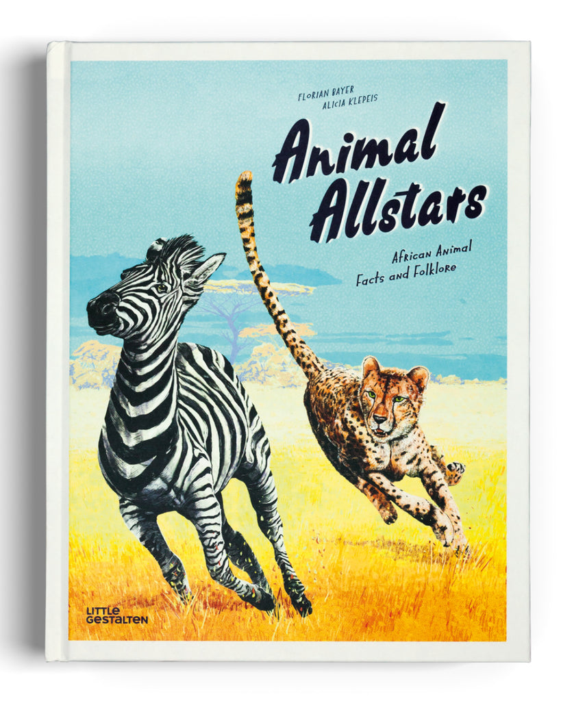 Animal All Stars: African Animal Facts & Folklore book cover
