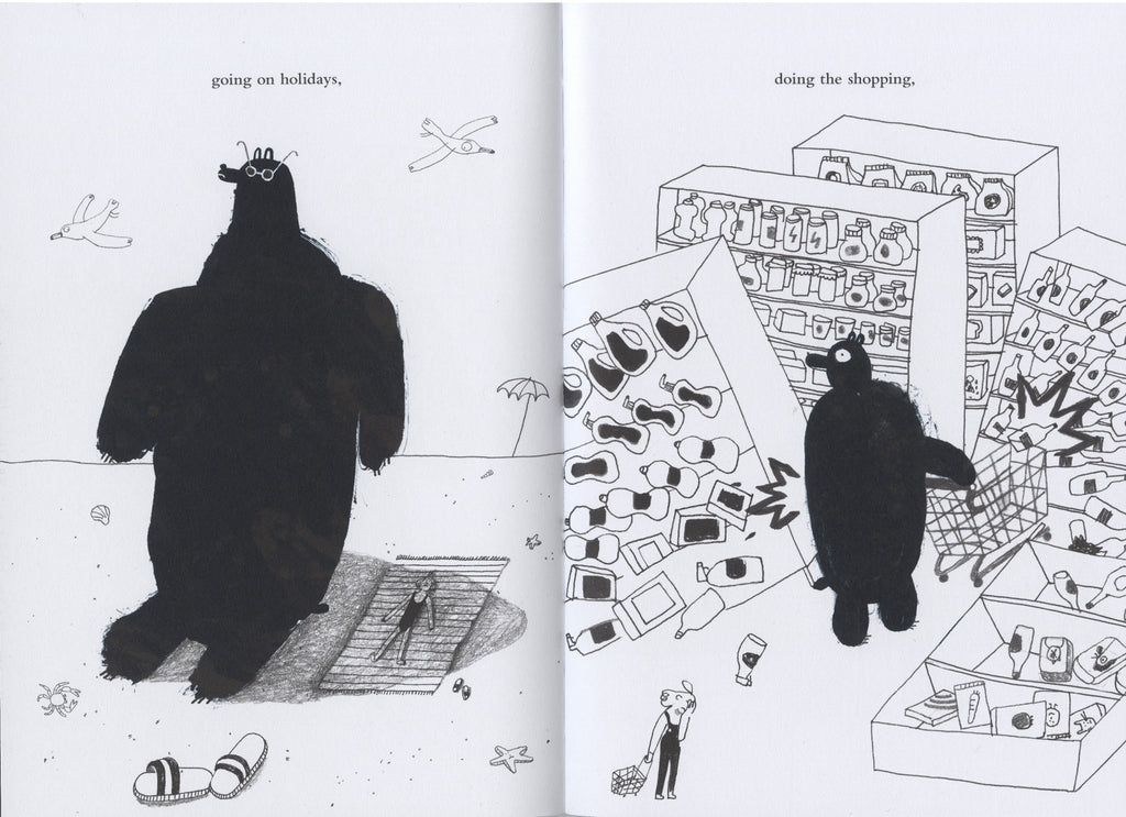 Bear with me by Noemi Vola book inside