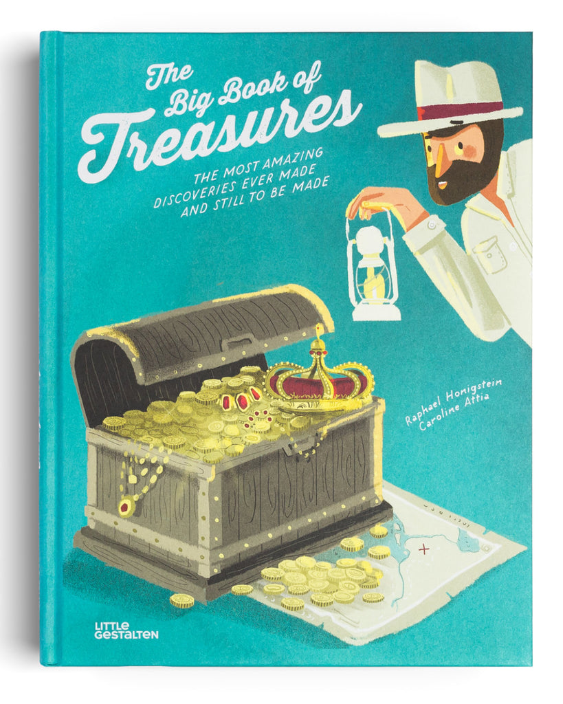 Big Book of Treasures book cover