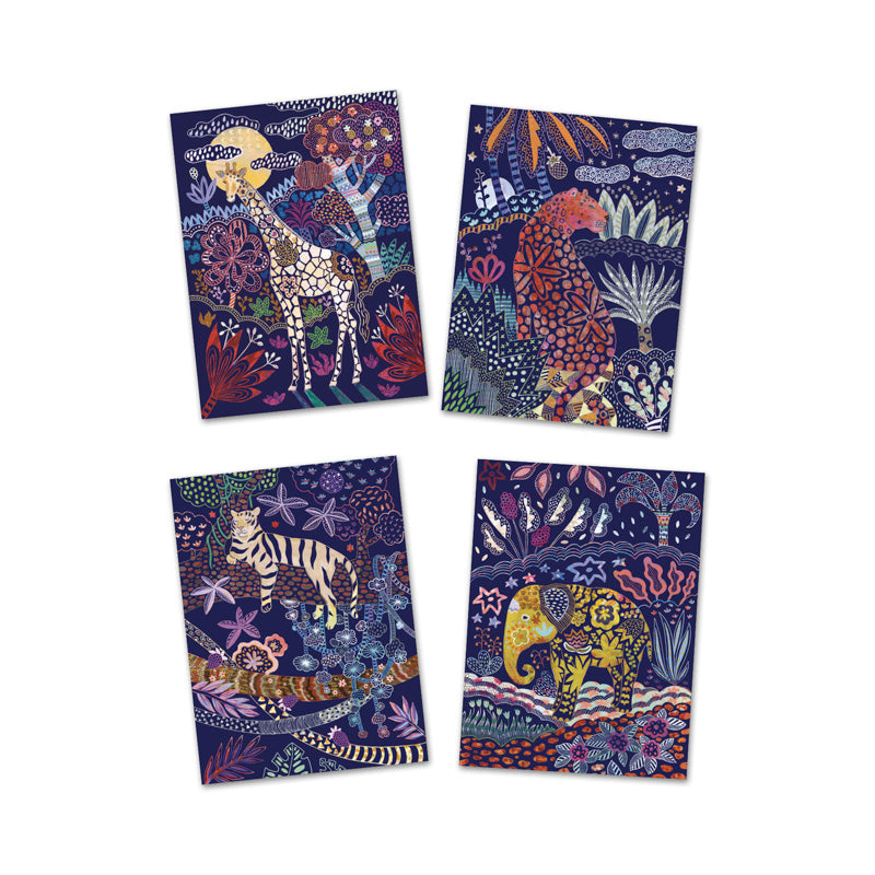 DJECO Lush Nature Scratch Cards