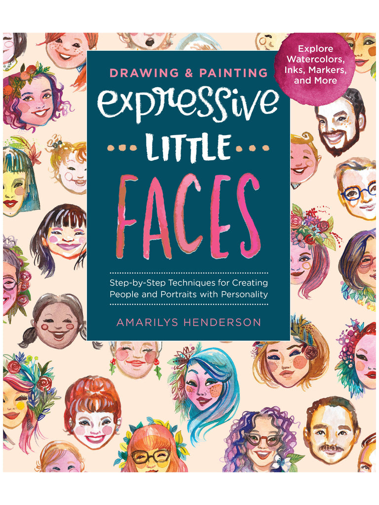 Expressive Little Faces book by Amarilys Henderson