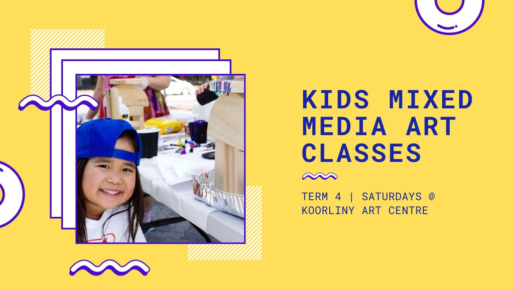 TERM 4 Kids Sculpture & Mixed Media 5-10 Years
