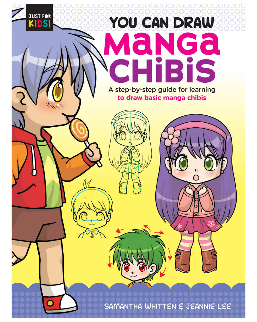 Manga Chibis: (You Can Draw Just for Kids!), You can draw chibi characters with the easy, step-by-step art projects in Manga Chibis (You Can Draw Just for Kids!). Also included are tips and techniques you can use to design your own characters once you are comfortable with the art style.