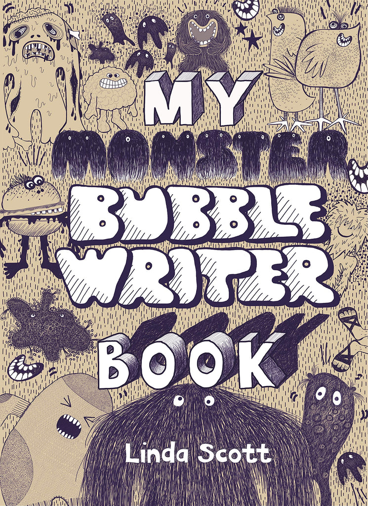 My Monster Bubble Writer Book by Linda Scott