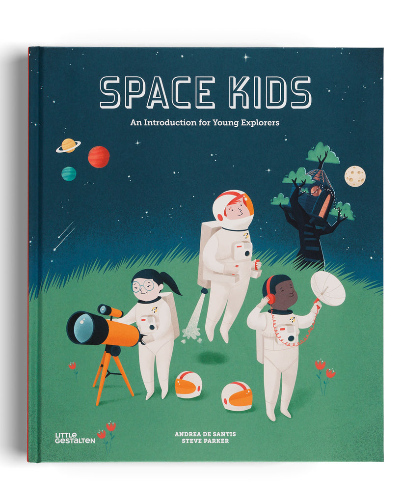 Space Kids Book by Steve Parker Cover