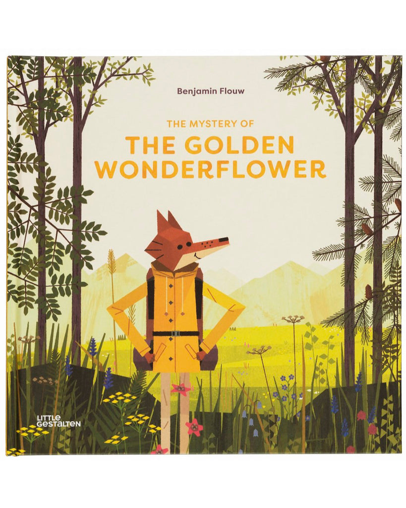 The Mystery of the Golden Wonderflower by Benjamin Flouw book cover