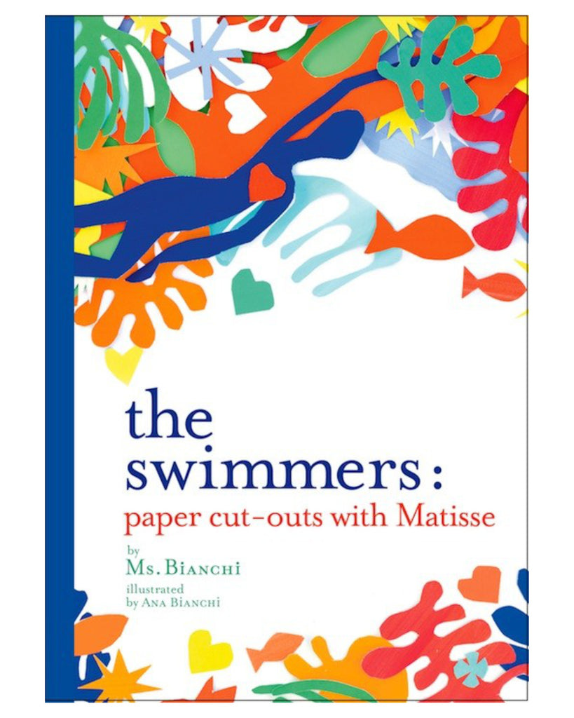 The Swimmers paper cutouts by Ms Bianchi book cover