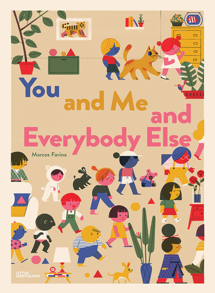 Book cover You and Me and Everybody Else by Marcos Farina
