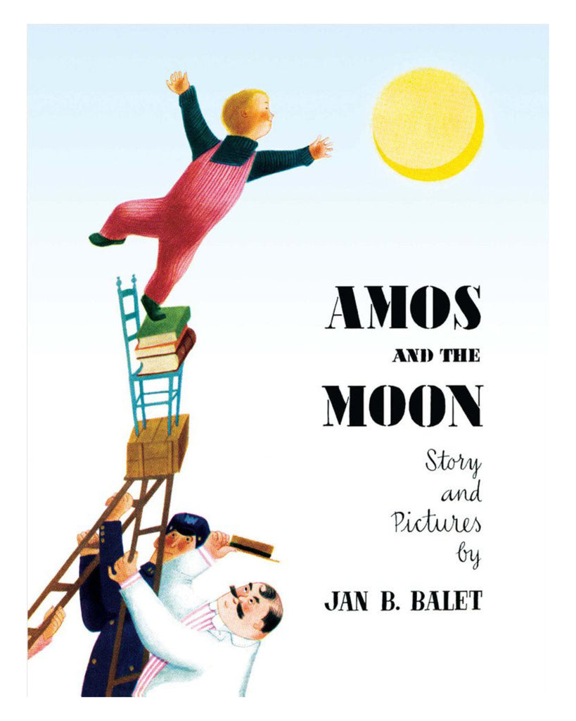 Amos and the moon Jan Balet cover
