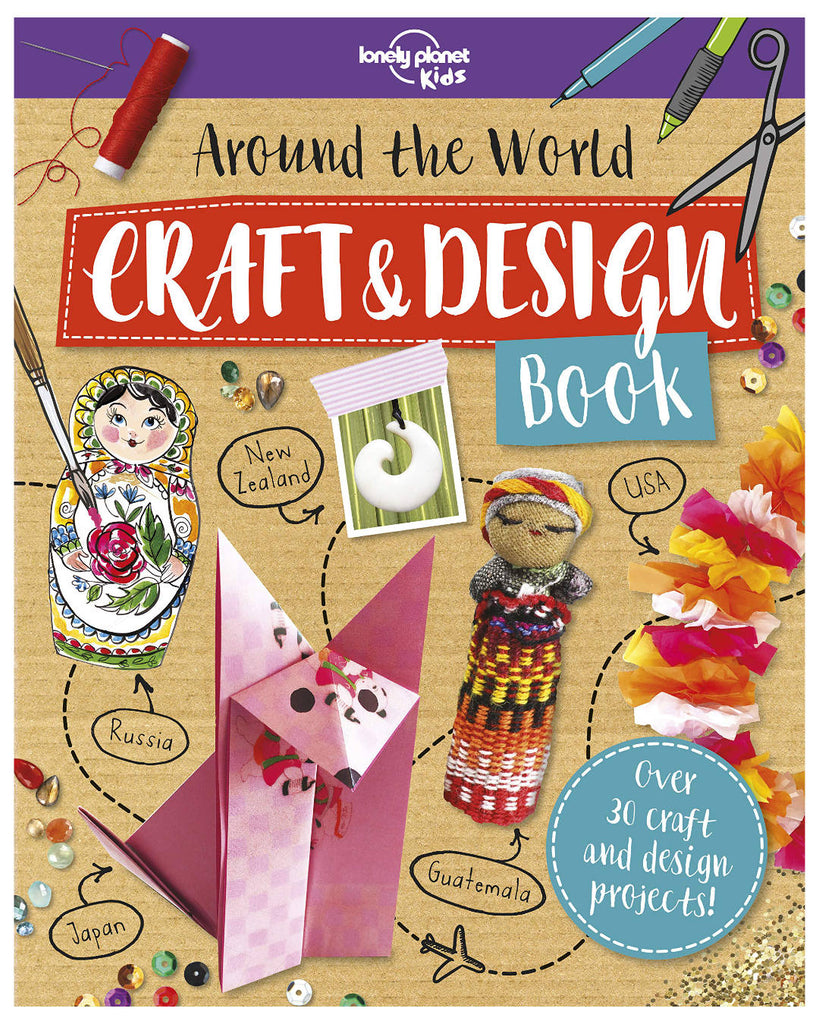 Lonely Planet Kids' Around the World Craft & Design Book contains a mix of exciting projects that can be made from common household items. Colourful illustrations, photos and fun facts introduce young artists to different cultures and encourage them to create and showcase their unique designs.