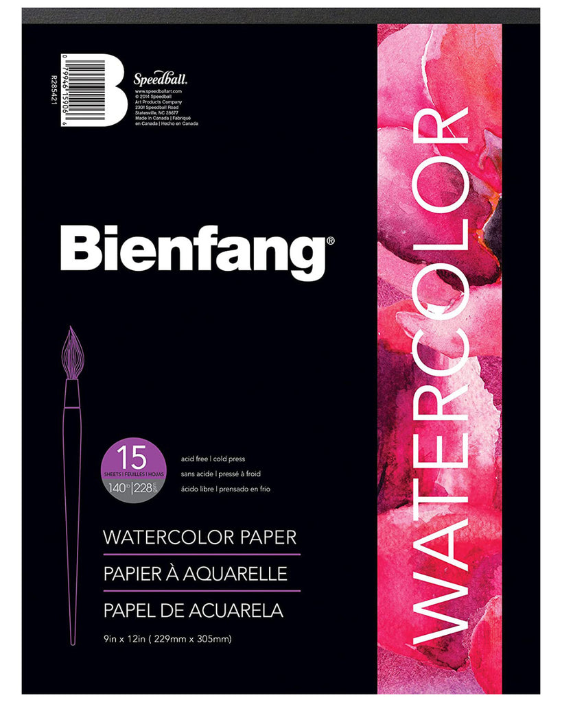 Bienfang Watercolour Paper Pad, Art Materials, Inside Art