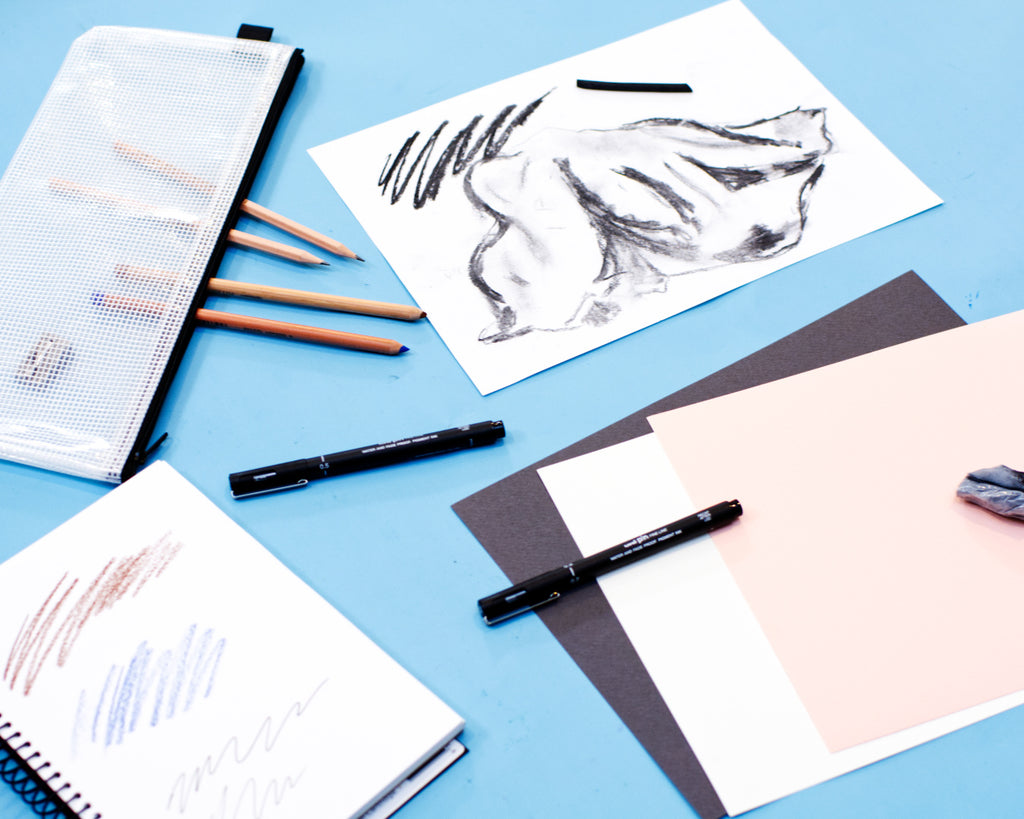 Our Dreamy Drawing Art Kit includes a curated, high-quality selection of drawing and sketching essentials that are suitable for students of all ages as well as artists of all abilities.