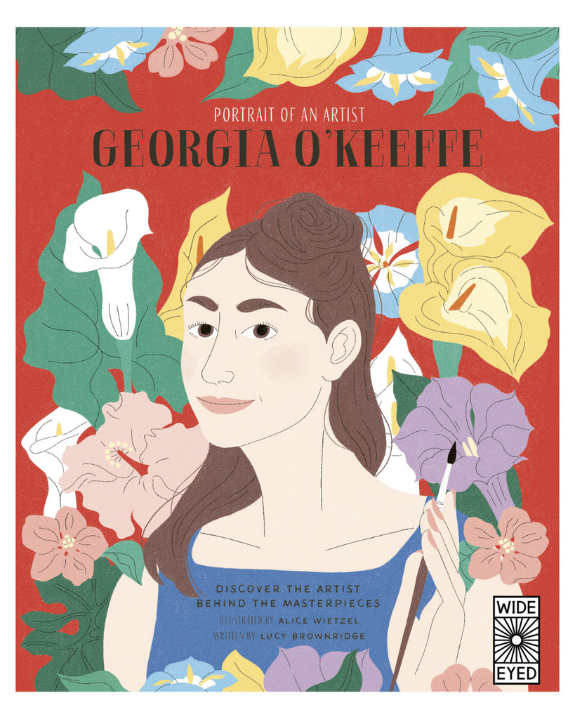 Georgia O'Keeffe (Portrait of An Artist), Learn about one of the world's favourite painters and mother of American Modernism - Georgia O'Keeffe - in this unique biography series, which depicts the story of an artist 's life through their own masterworks.