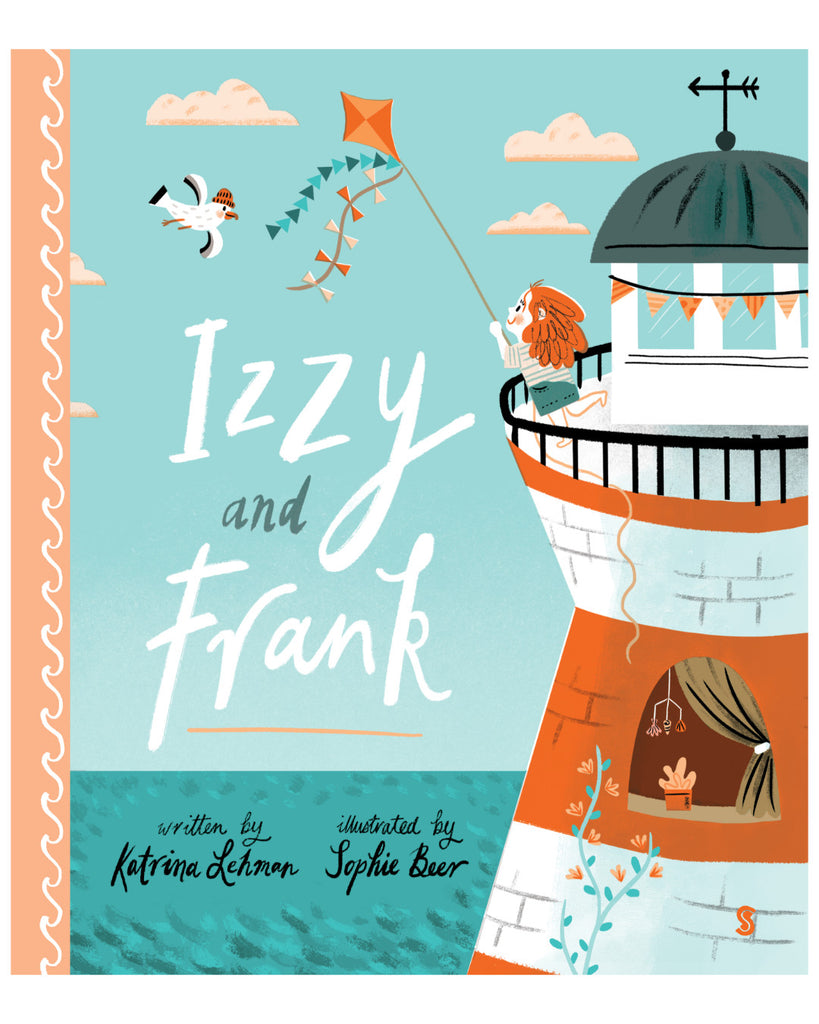 Izzy and Frank book by Katrina Lehman & Sophie Beer