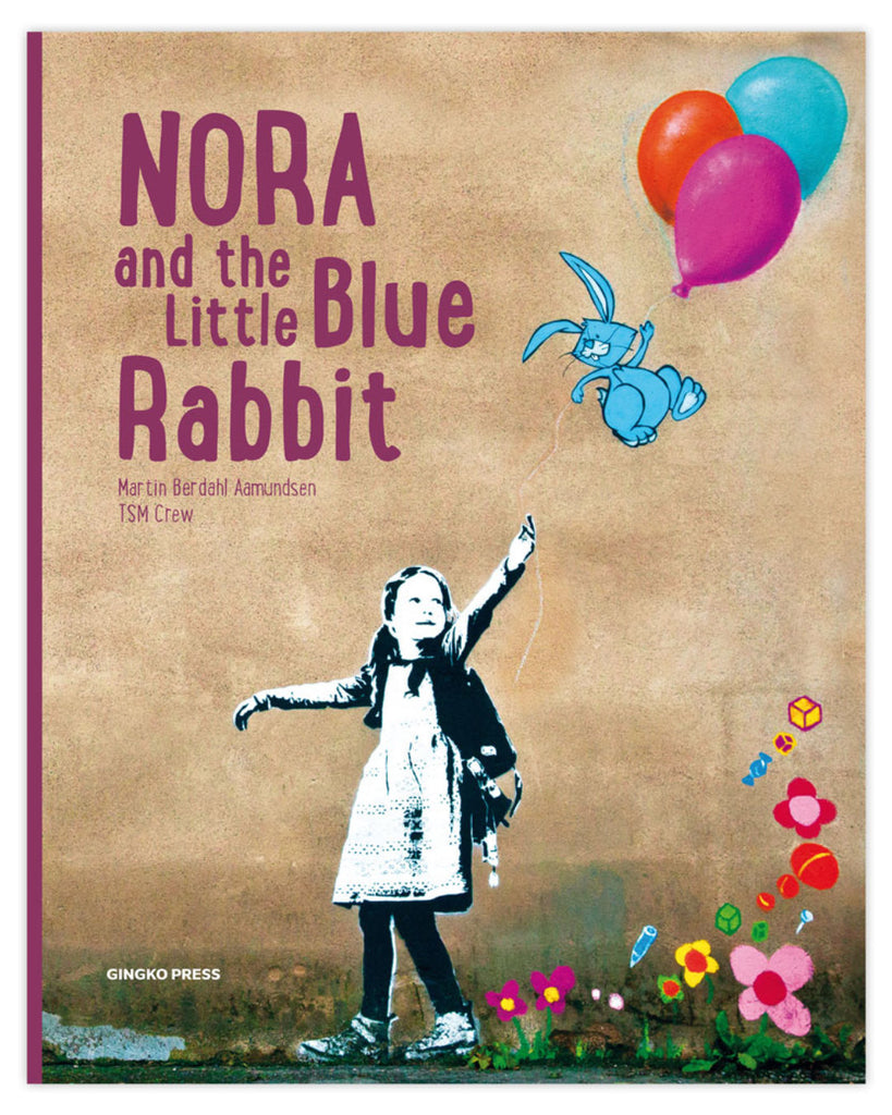 Nora and the Little Blue Rabbit book cover
