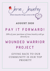 Pay It Forward: Wounded Warrior Project