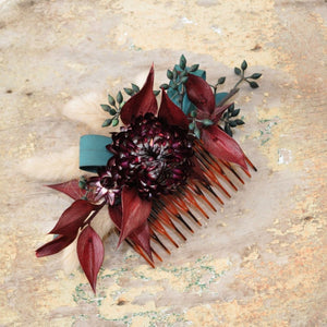 Floral Hair Combs