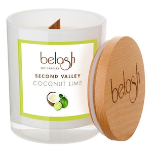 Soy Candle by Belash 'Second Valley' - Coconut Lime