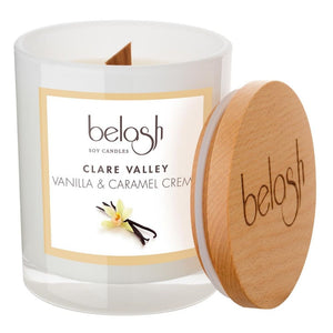 Soy Candle by Belash 'Clare Valley - Vanilla & Caramel Creme'