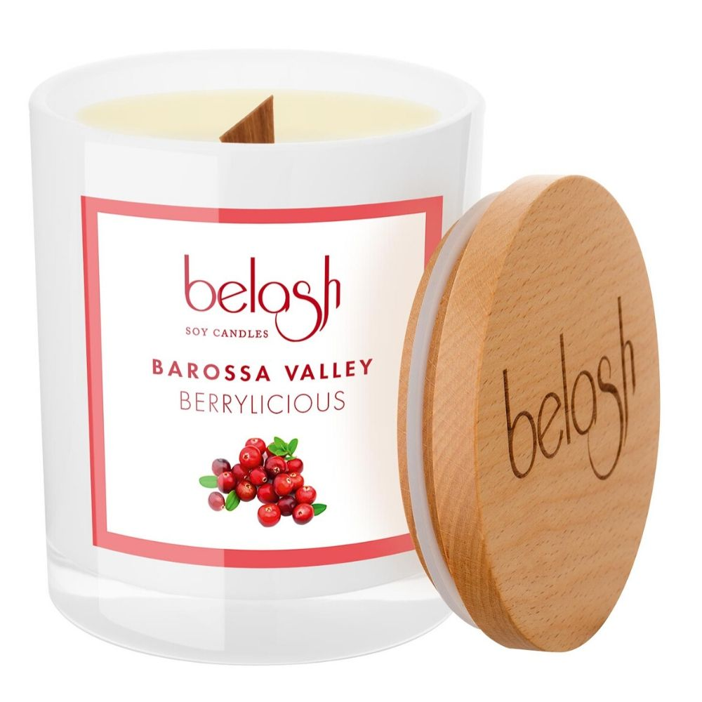 Soy Candle by Belash 'Barossa Valley - Berrylicious'