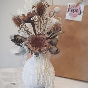 Dried Harvest Vase