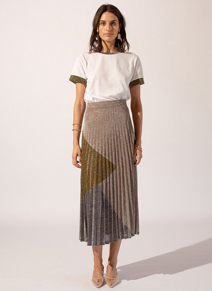 Luna Pleat Skirt