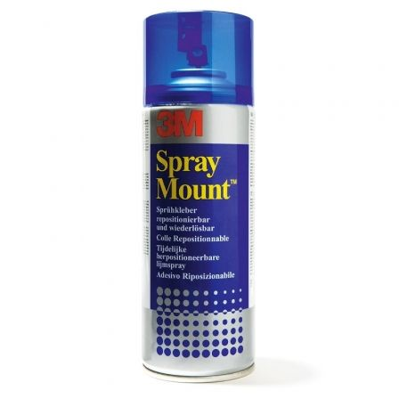 SPRAY ADHESIVO 3M SPRAY MOUNT - REMOVIBLE POR TIEMPO LIMITADO - 400ML - imagen 1