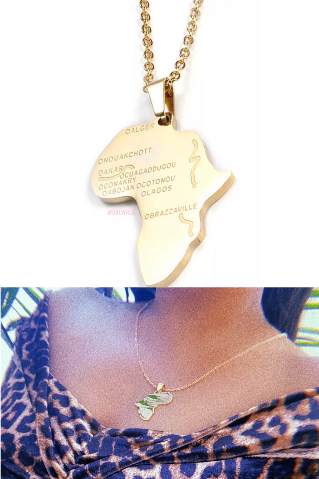 Motherland AFRICA Necklace