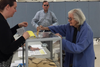 At 97 voting for the first time