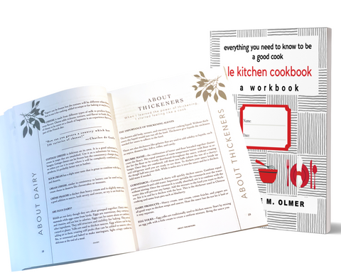 Le Kitchen Cookbook: a Workbook Available Now
