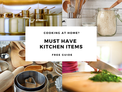 Must Have Kitchen Items Free Guide