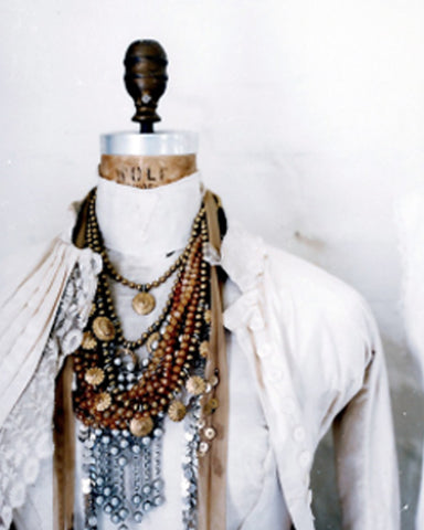 How to Accessorize with lots of Necklaces!