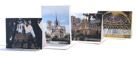 Greeting Cards Notre Dame de Paris Series help with the reconstruction with every purchase