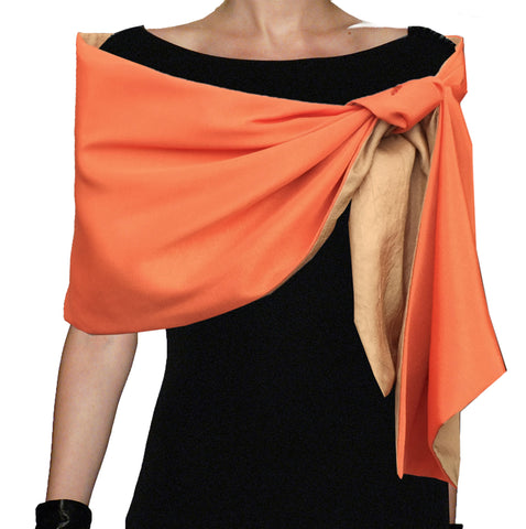 Wrap Scarf Reversible Bright Colors