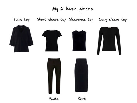 6 basic piece wardrobe