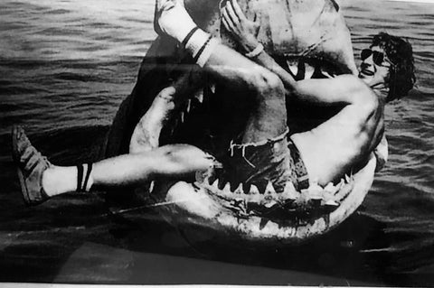 Steven Spielberg,  Martha's Vineyard filming Jaws