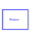 Note Cards - A Touch of France