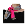 Le Necktie Fuchsia and Grey