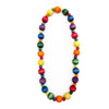 Dyed Wood Beads Medium