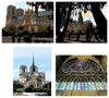 Set of Greeting Cards Notre Dame Collection