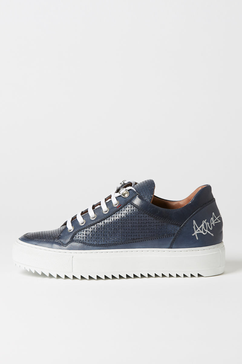 Aqua & Rock Atlantic Navy Sneakers