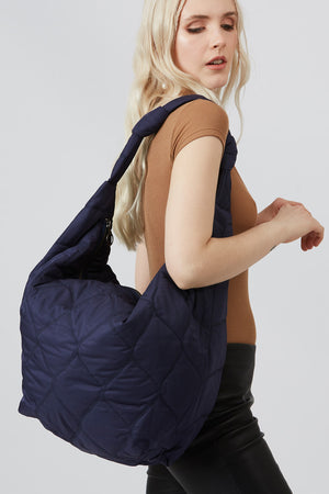 Biscay Blue Cushioned Bag