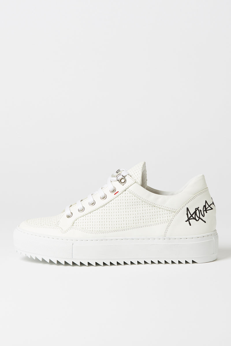 Aqua & Rock Elka White Sneakers