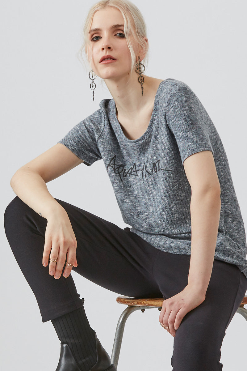 Grey Shore Aqua & Rock T-shirt