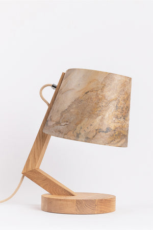 Aqua & Rock Brownstone luxury table lamp
